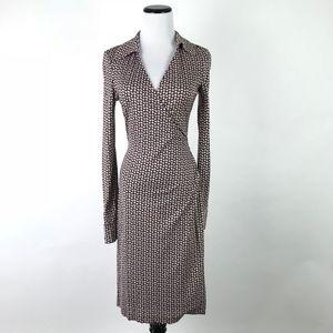 DVF Wrap Jeanne Polka Dot Dress #104